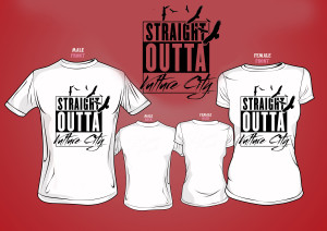 Straight Outta Vulture City Tshirt