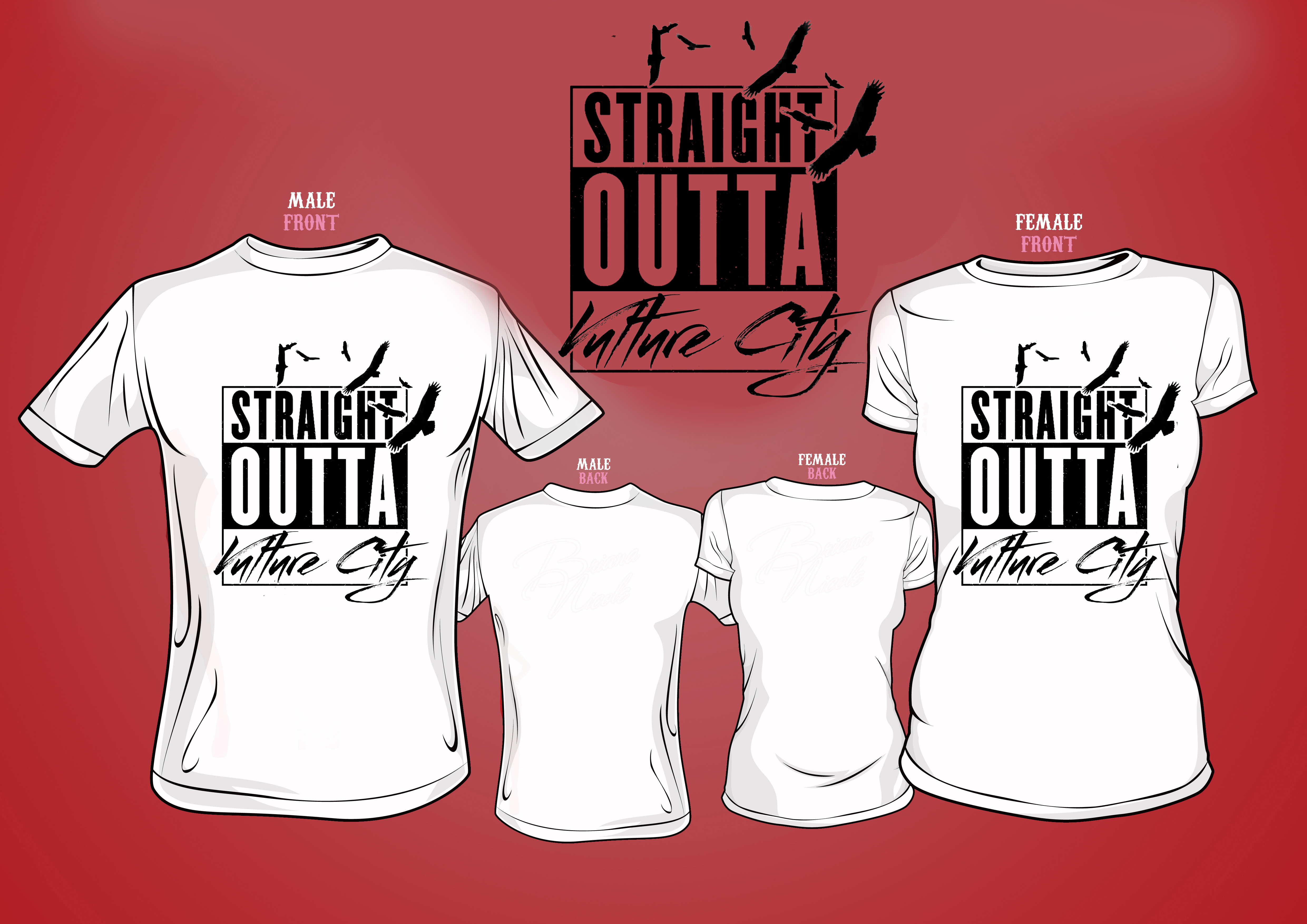 Straight Outta Vulture City Tshirt
