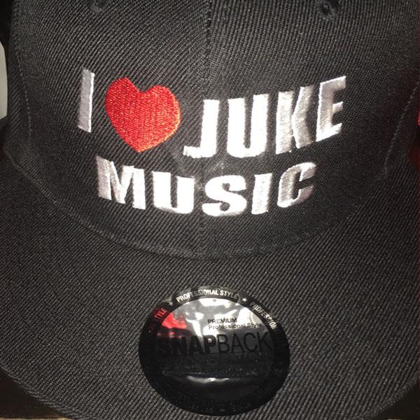 i love juke snapback black