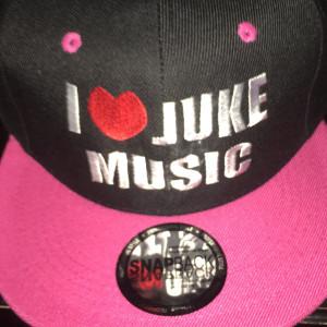 i love juke snapback pink black