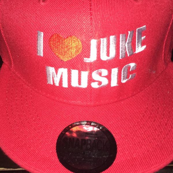 i love juke snapback red